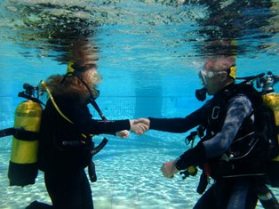 PADI Open Water with Dive In Limassol