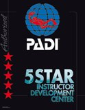 PADI 5 Star Instructor Development Centre in Limassol