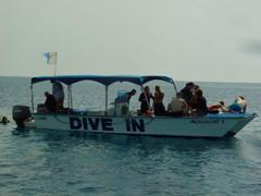 Dive In Limassol's purpose built dive boat The Aquacat