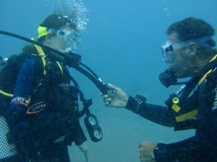 PADI Scuba Diver with Dive In Limassol