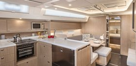 Bavaria C45 Galley