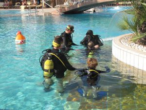 Confined Water Training